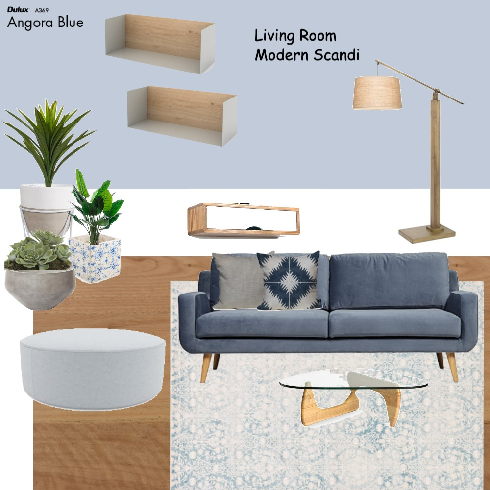 Living room modern scandi Mood Board by Dreamfin Interiors on Style Sourcebook