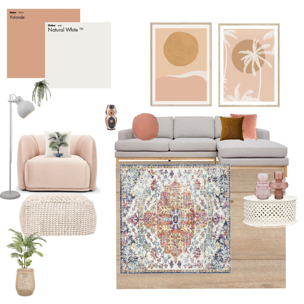 Soft mood Living Interior Design Mood Board by sb1972 on Style Sourcebook