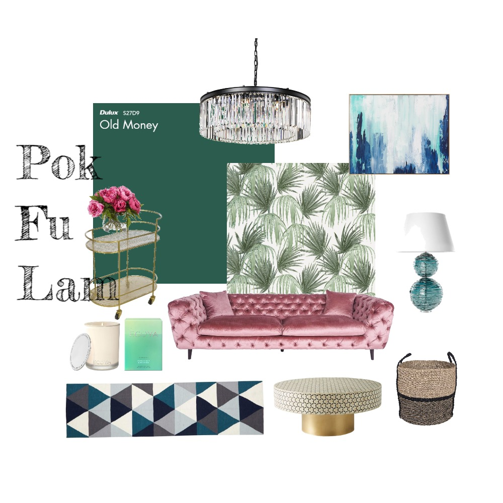 Pok Fu Lam Art Deco Home Interior Design Mood Board by vanillachicbooth on Style Sourcebook