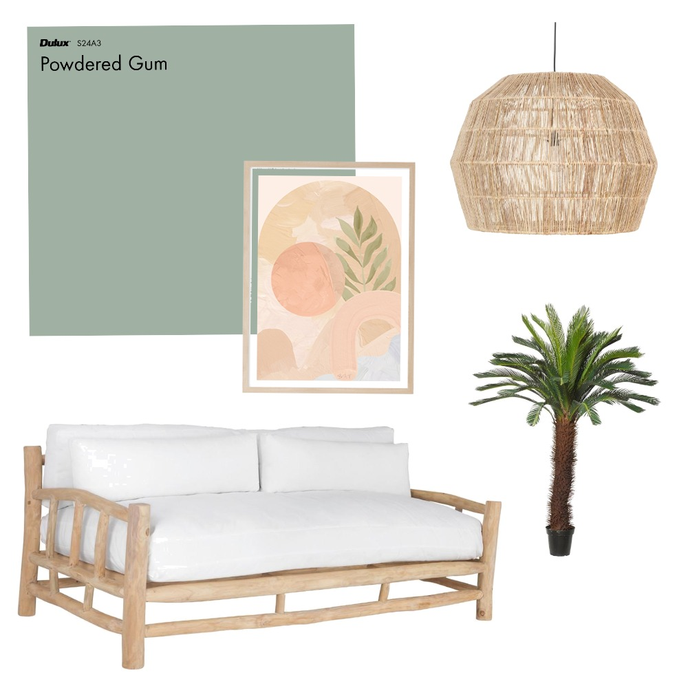 Palms Interior Design Mood Board by Colour impressions on Style Sourcebook