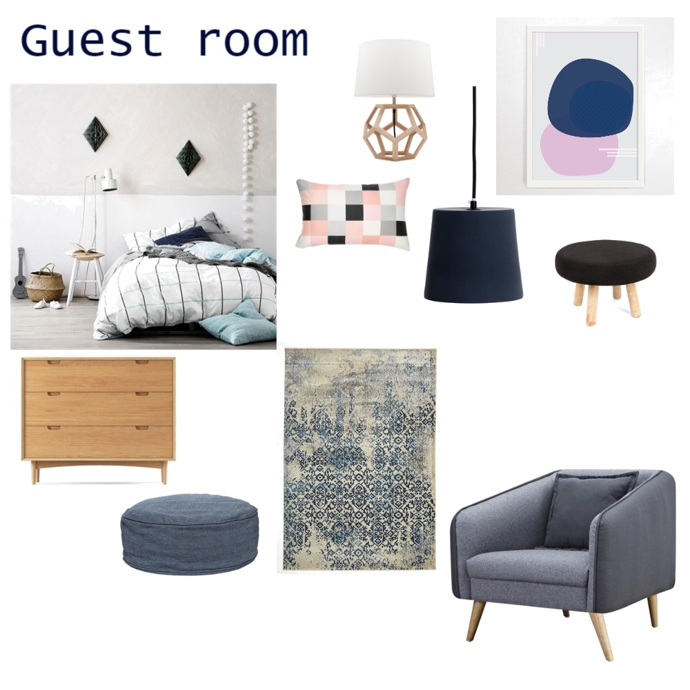 Guest room Mood Board by Inspace Design on Style Sourcebook