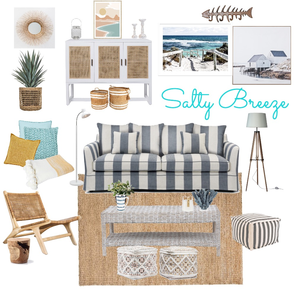 Salty Breeze Interior Design Mood Board by Rosi Pisani on Style Sourcebook