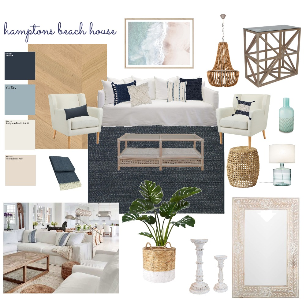 Hamptons Interior Design Mood Board by meg.edwards14@gmail.com on Style Sourcebook