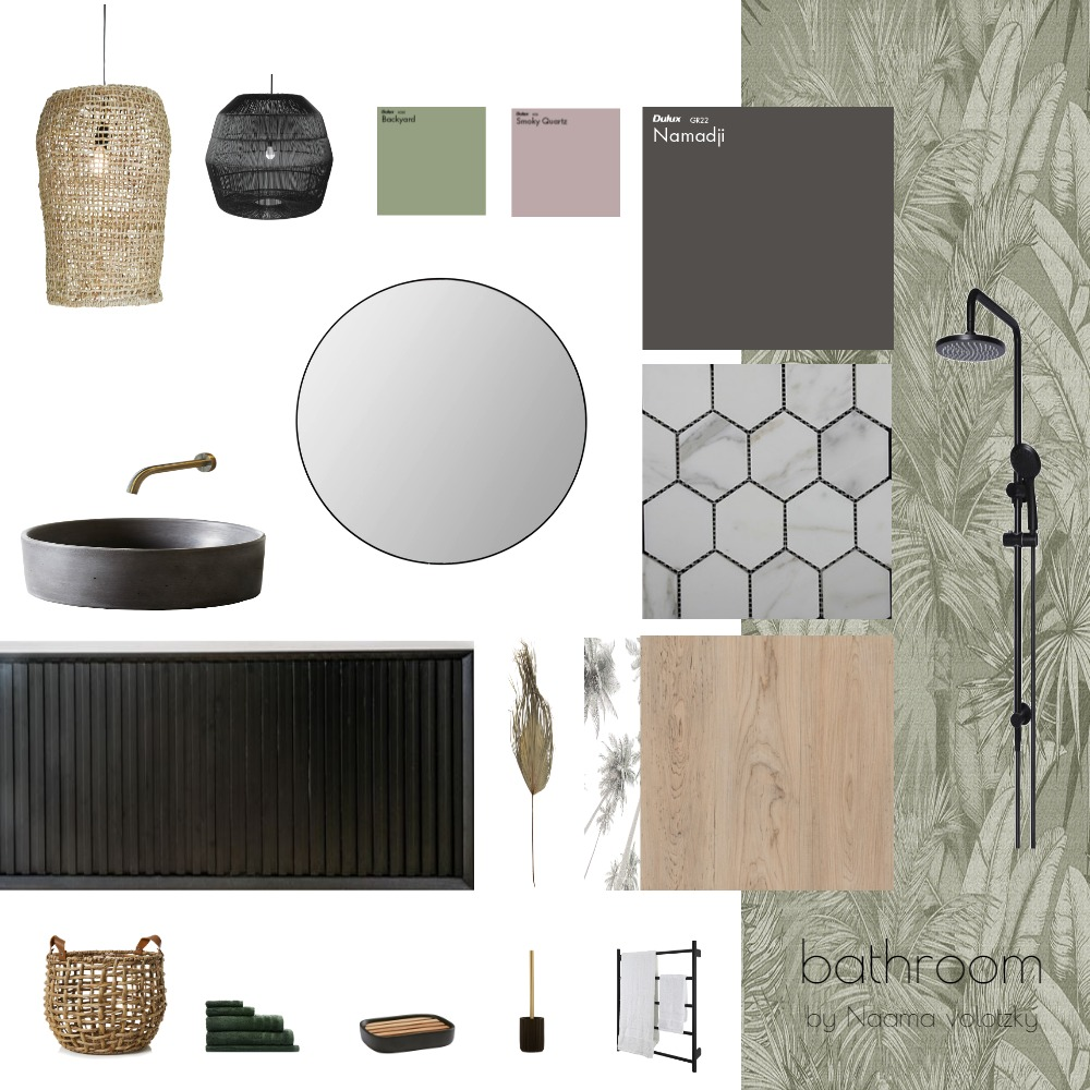 bathroom Interior Design Mood Board by naamainteriordesign on Style Sourcebook