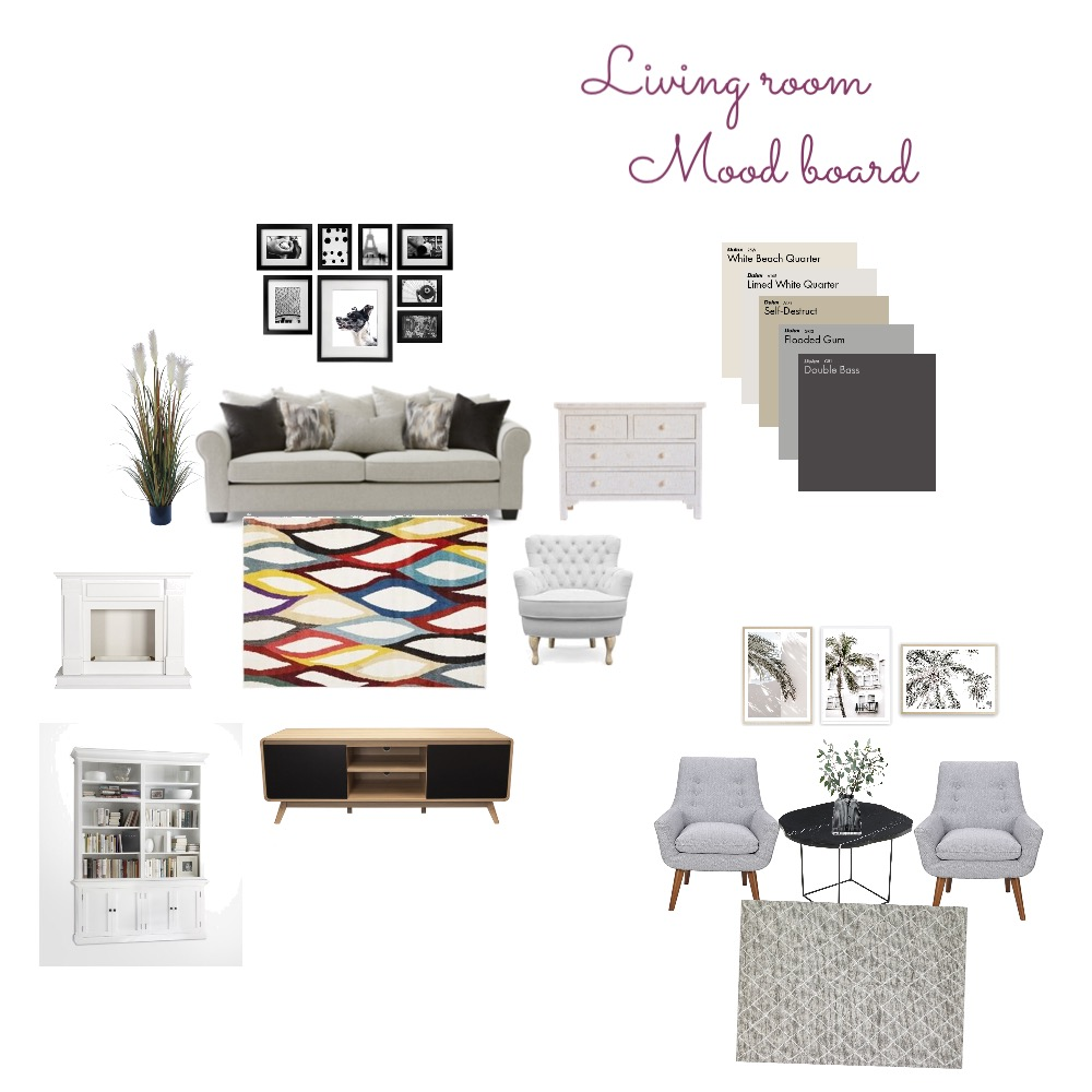 Living room Interior Design Mood Board by Ana khammy on Style Sourcebook