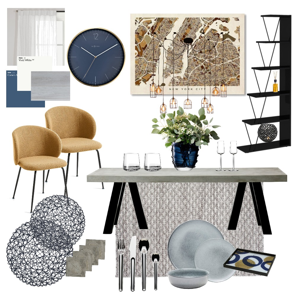 Dining room Interior Design Mood Board by alysha.v on Style Sourcebook