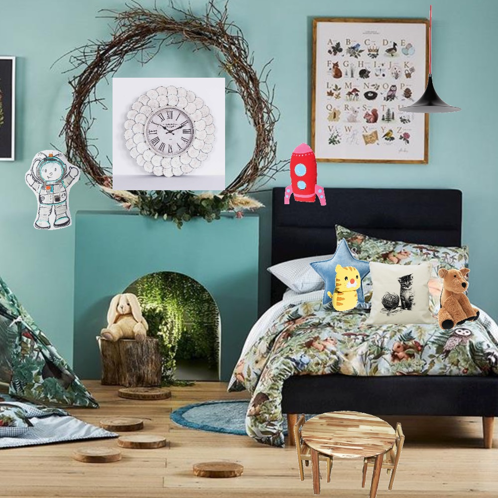 Kids room Interior Design Mood Board by LaurenLansdown on Style Sourcebook