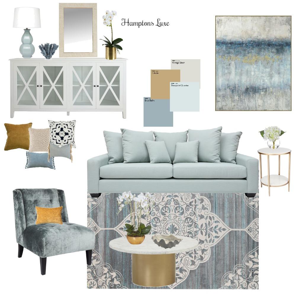 Hamptons Luxe Interior Design Mood Board by Melissa Schmidt on Style Sourcebook