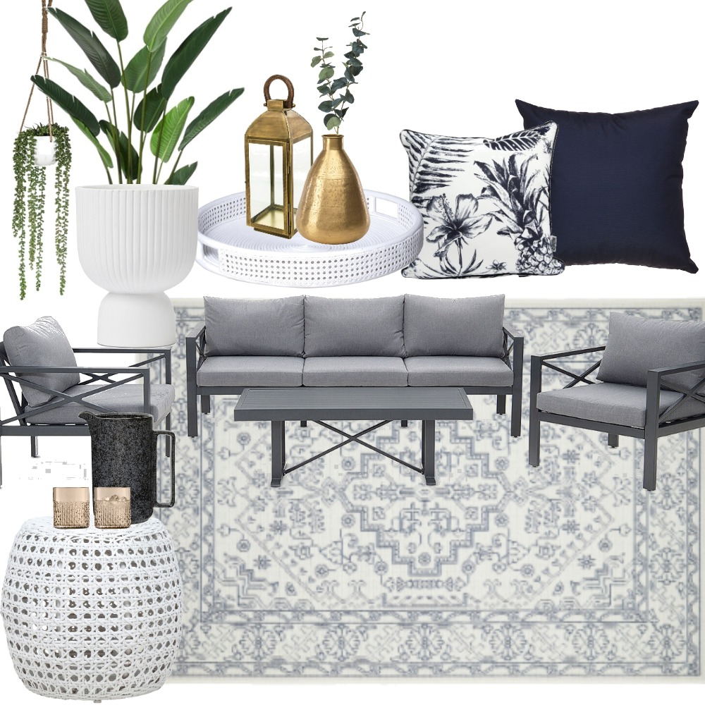 Outdoor Lounge Interior Design Mood Board by jemmagrace on Style Sourcebook