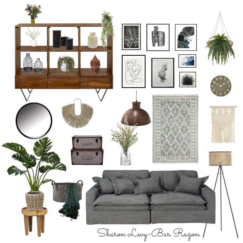 Rustic Design-Living Room Interior Design Mood Board by SHARON  LEVY BAR RAZON on Style Sourcebook
