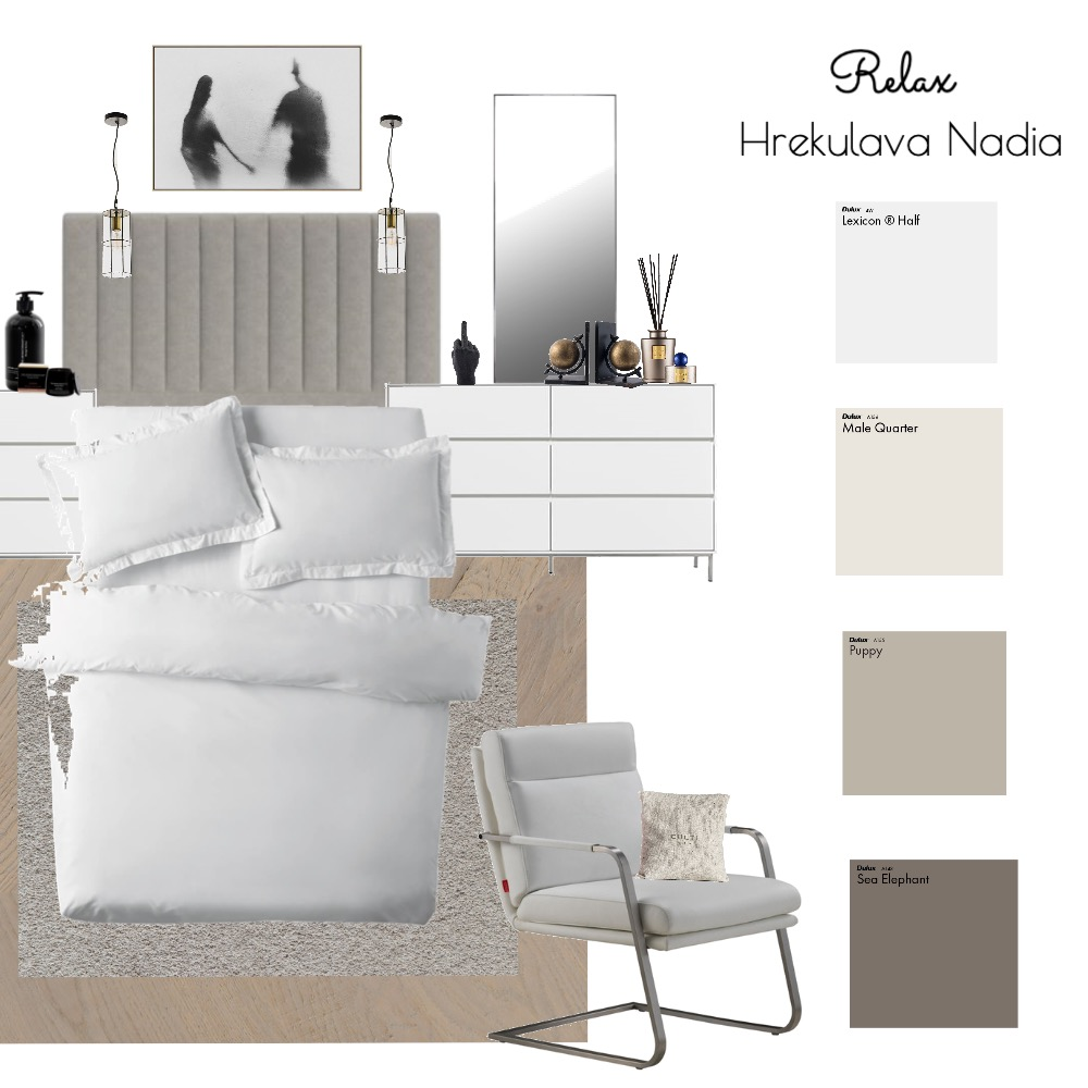 Relax Interior Design Mood Board by Hrekulava Nadia on Style Sourcebook