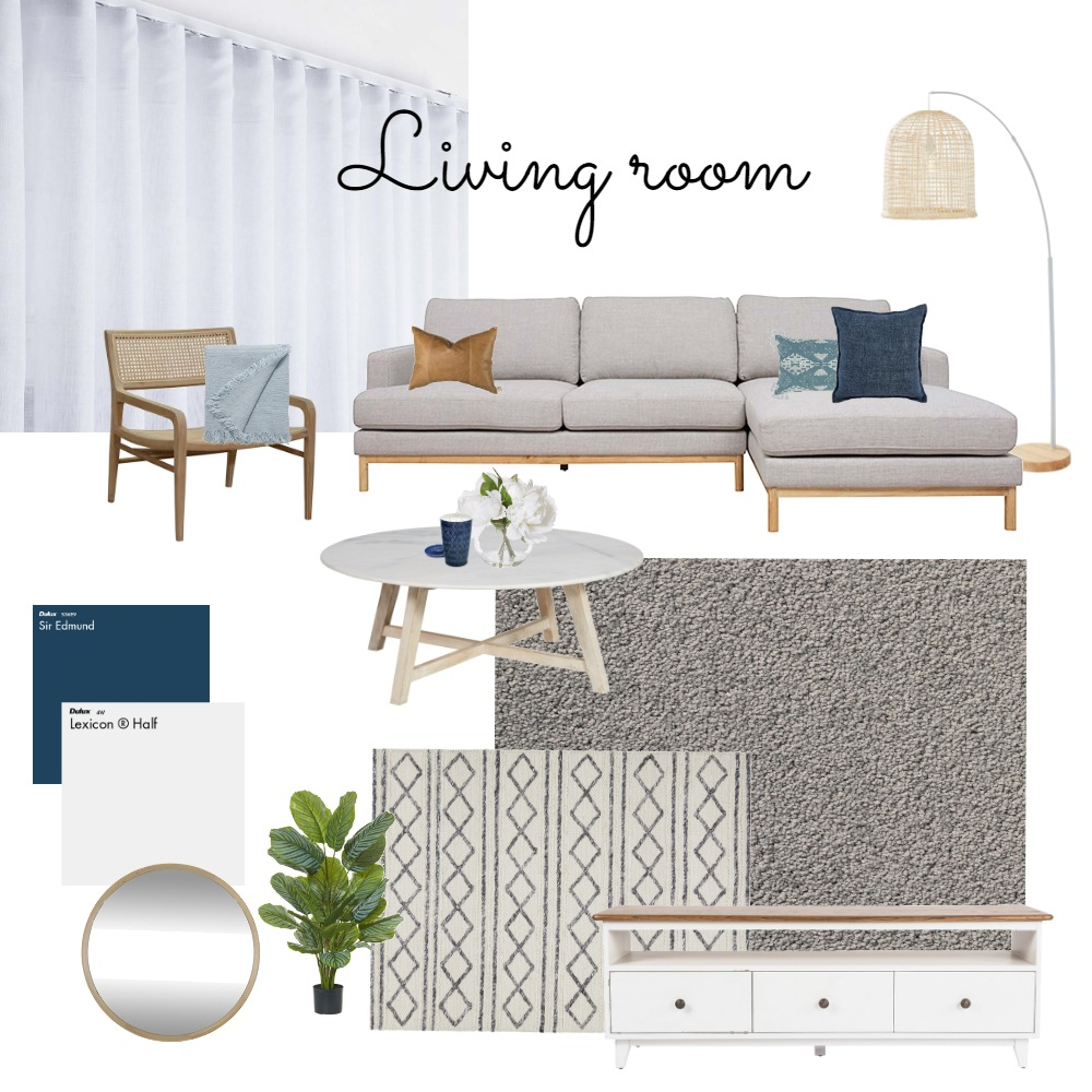 New living room Interior Design Mood Board by bianca1982 on Style Sourcebook