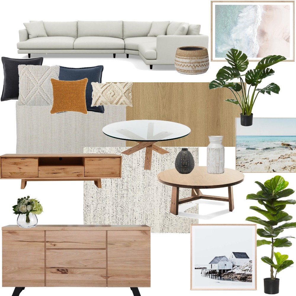 Lounge Room Interior Design Mood Board by Dani on Style Sourcebook