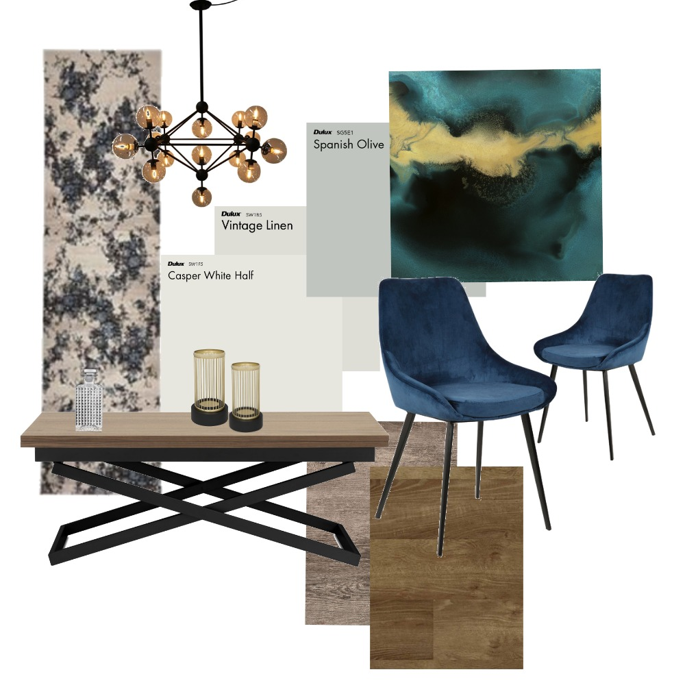 Art Deco Dining Interior Design Mood Board by lgubbels on Style Sourcebook