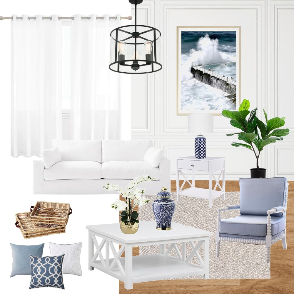 hamptons style Interior Design Mood Board by Ranaxao on Style Sourcebook