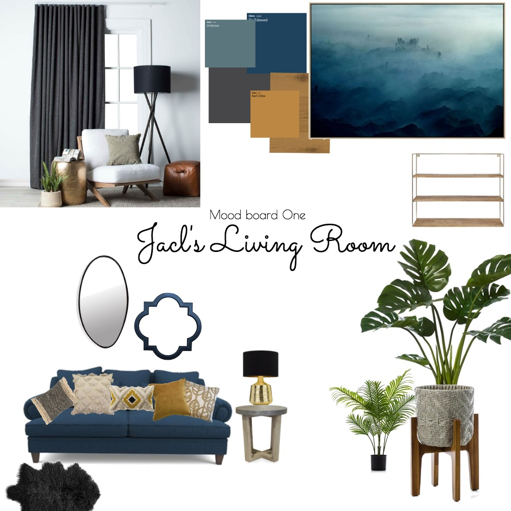 Jack's Living Room Interior Design Mood Board by LuPerrott on Style Sourcebook
