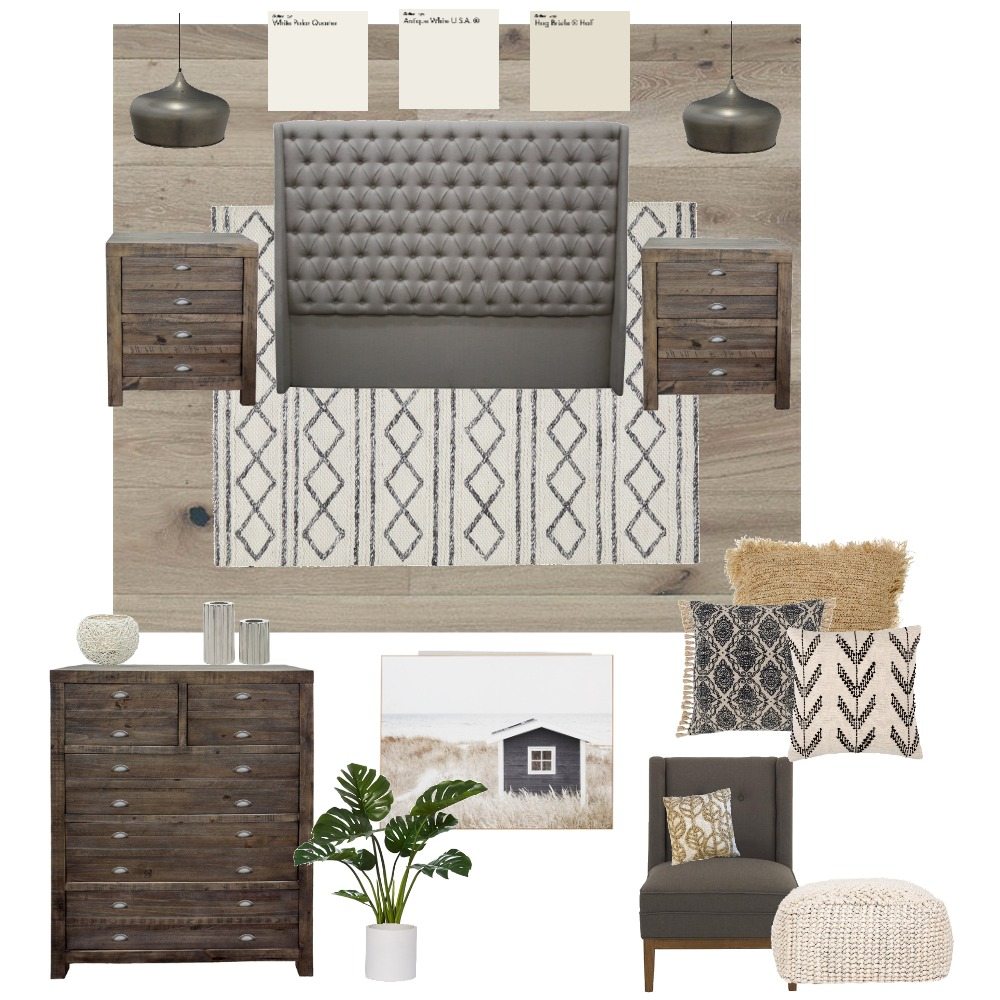 bedroom Interior Design Mood Board by stacialb1 on Style Sourcebook