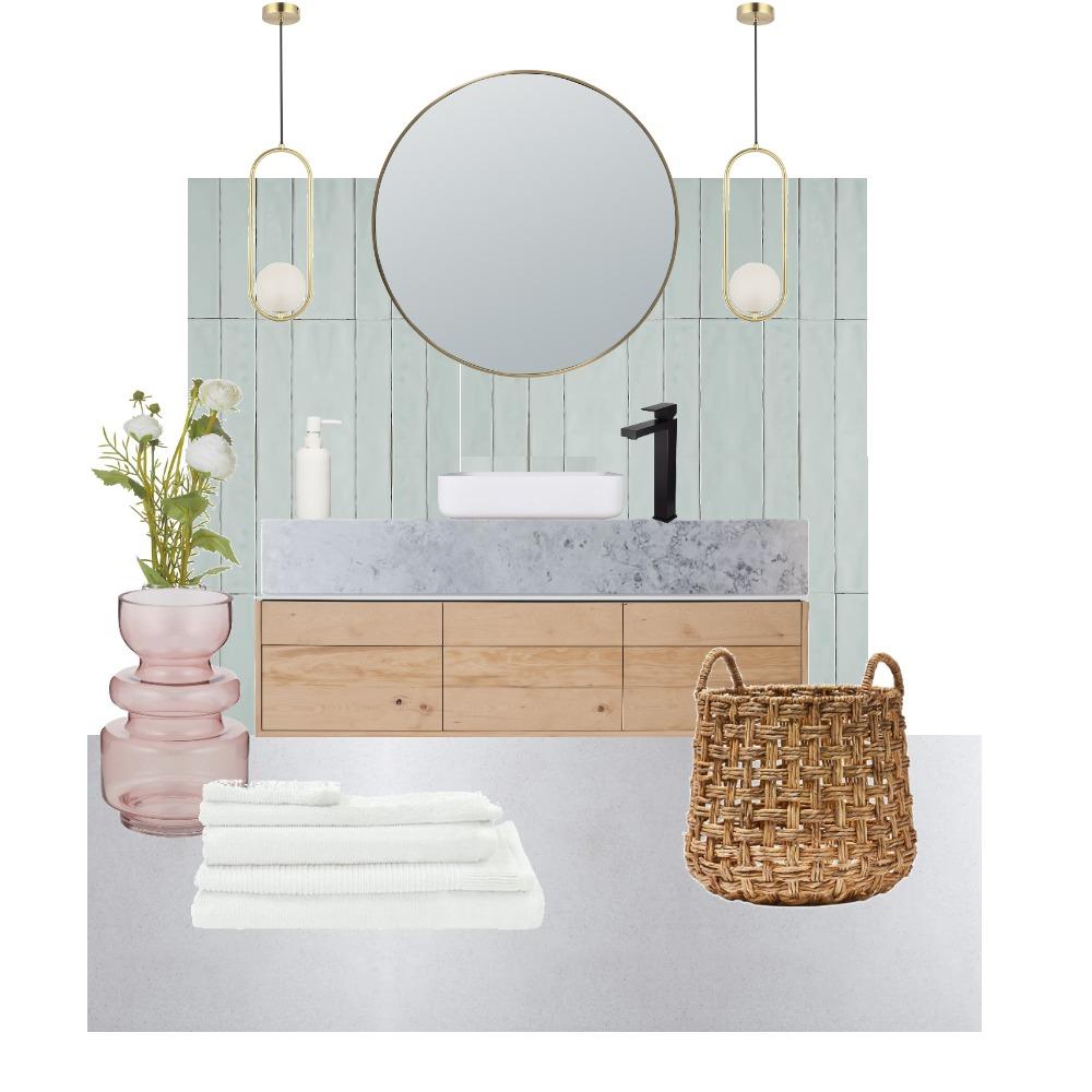 Jewel toned bathroom Interior Design Mood Board by Georgie Ayers on Style Sourcebook