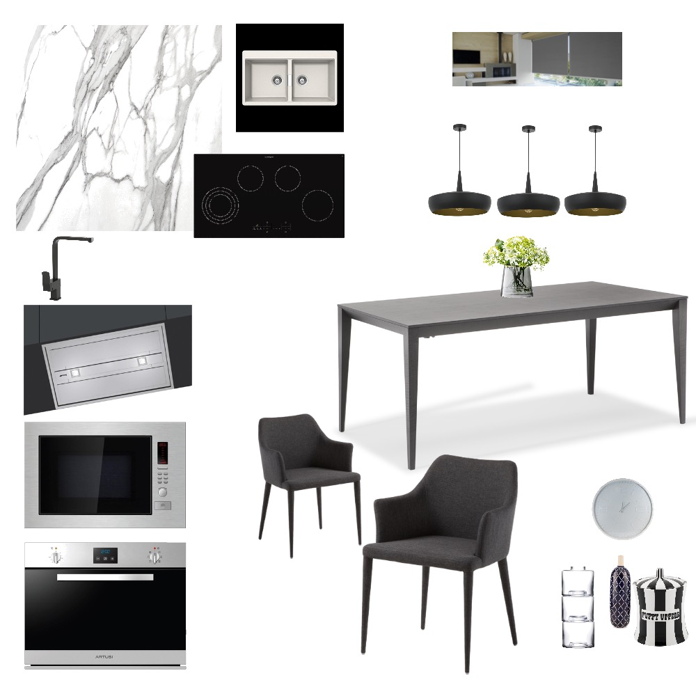 Dinning room and kitchen Interior Design Mood Board by Paula Moreira on Style Sourcebook