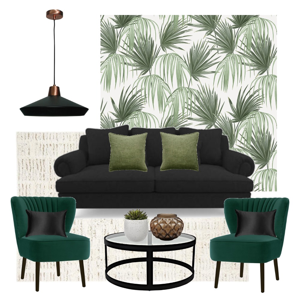 Green Interior Design Mood Board by Ahysampv on Style Sourcebook