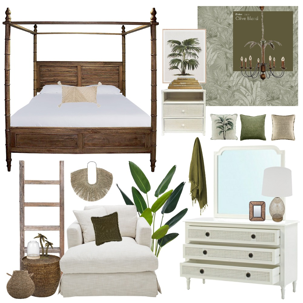 plantation Interior Design Mood Board by Thediydecorator on Style Sourcebook