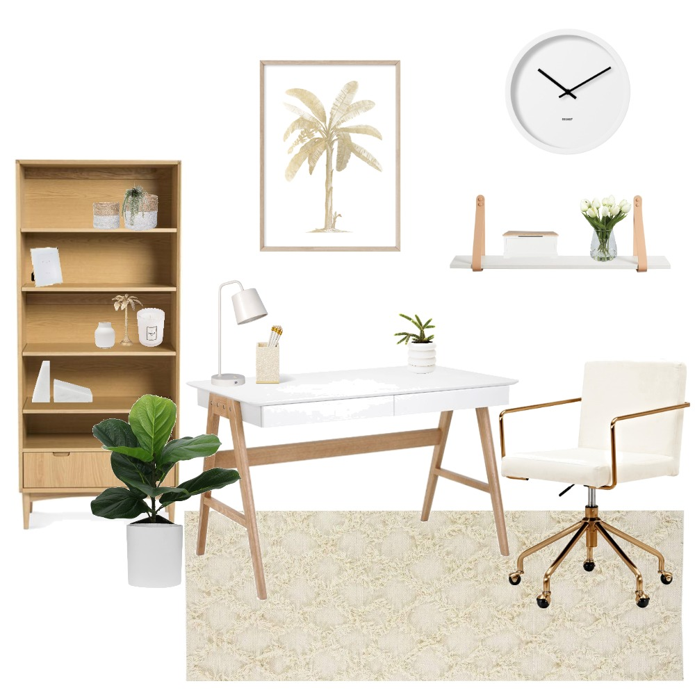 Study Interior Design Mood Board by My Coast Home on Style Sourcebook