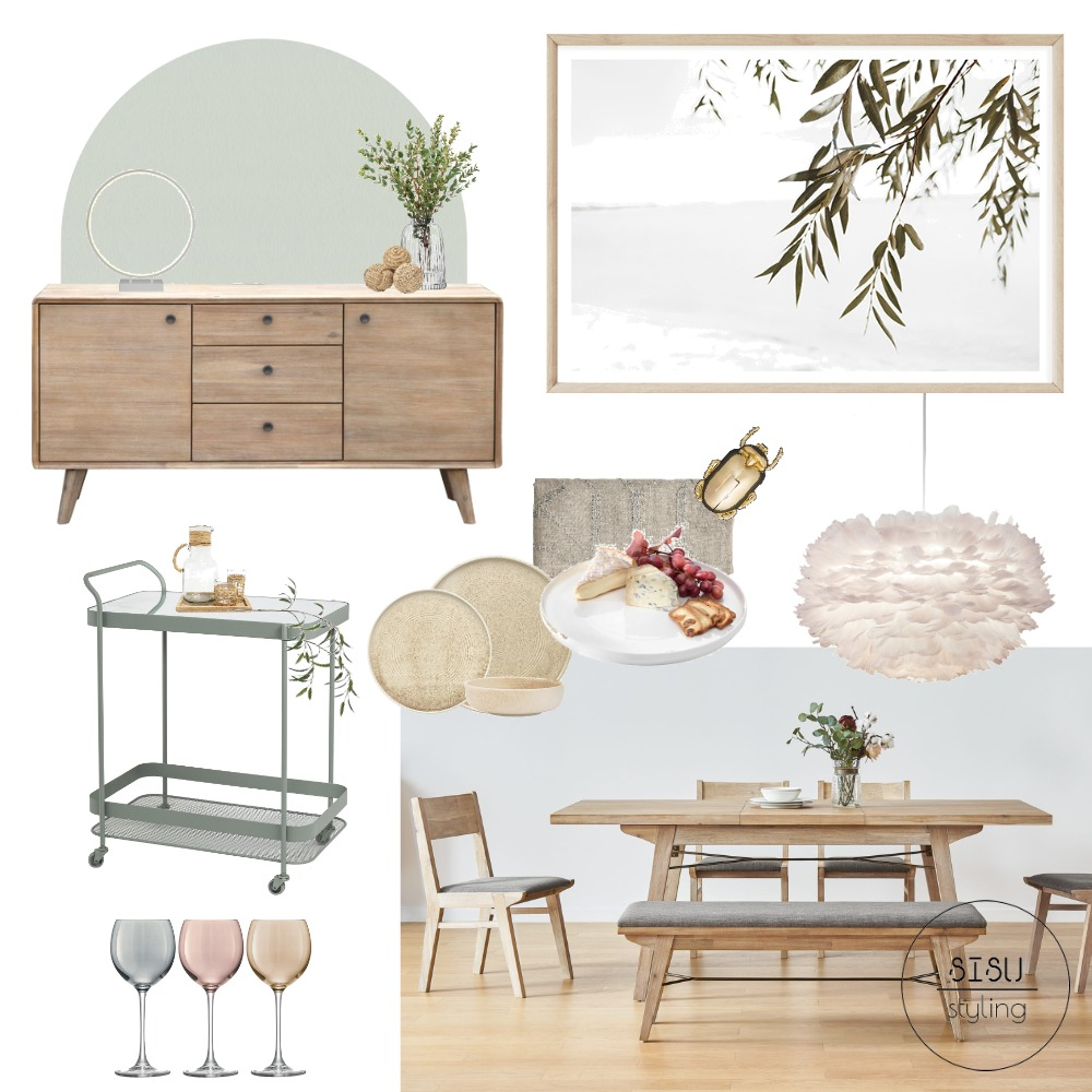 Australian Christmas dining room Interior Design Mood Board by Sisu Styling on Style Sourcebook