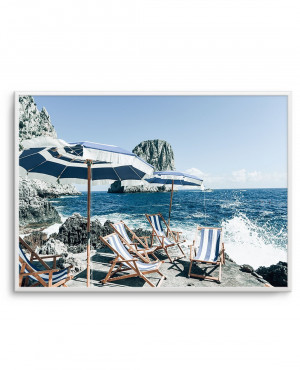 Fontelina in the Sun, Capri by oliveetoriel.com, a Original Artwork for sale on Style Sourcebook