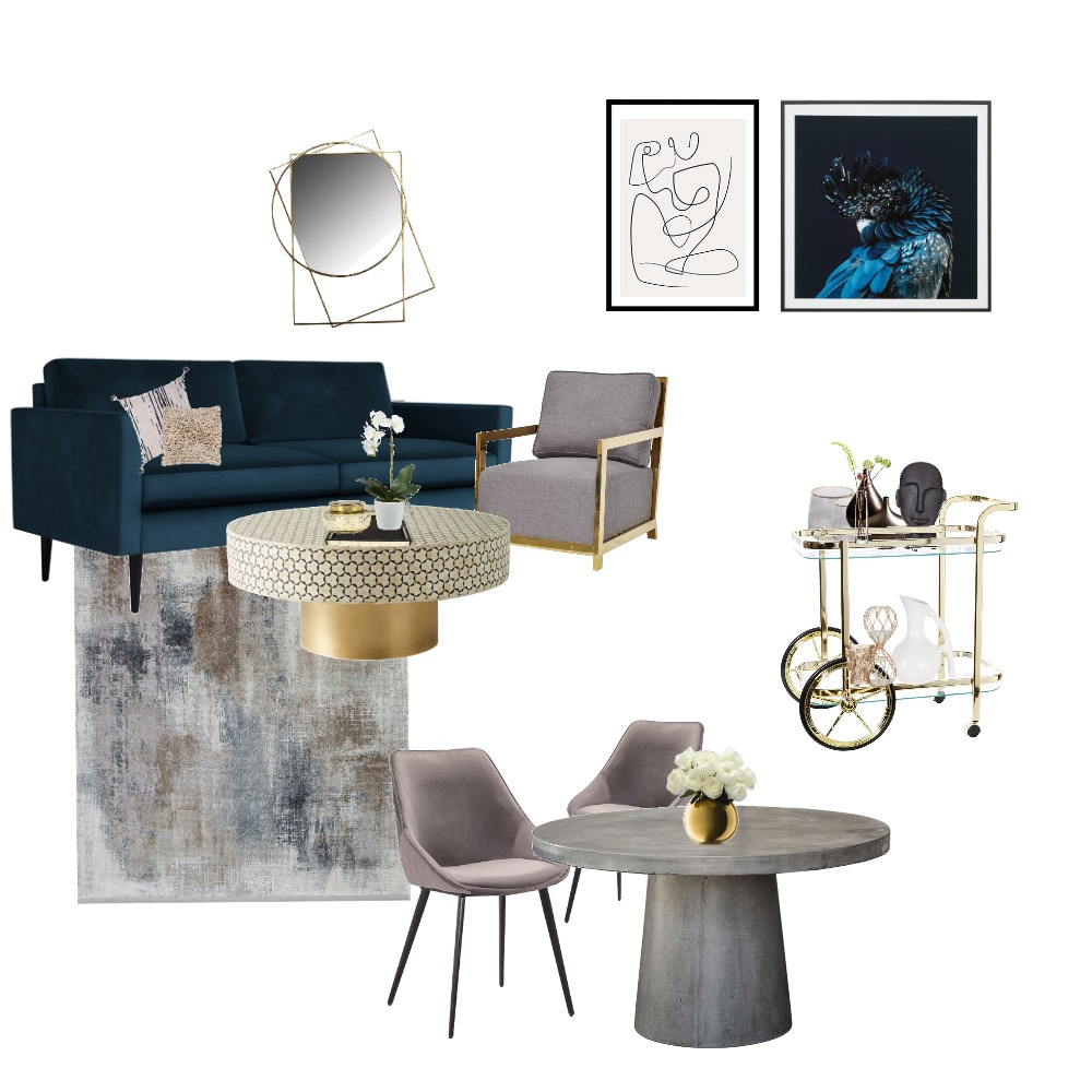 Living room Interior Design Mood Board by Kirsten.lee on Style Sourcebook