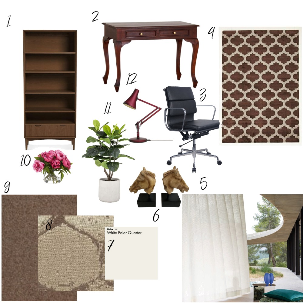 Office Interior Design Mood Board by glendao on Style Sourcebook