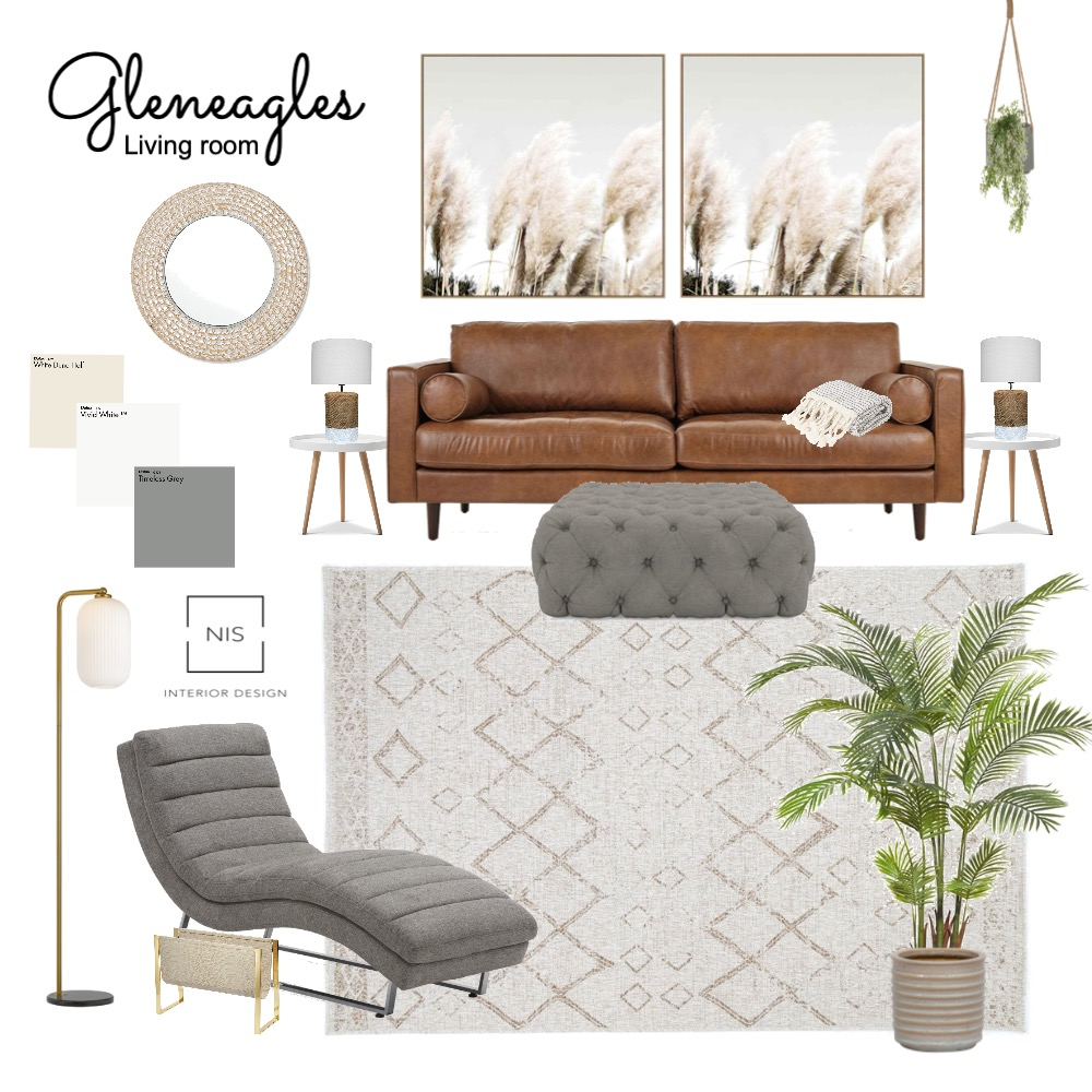 Gleneagles living room (option B) Interior Design Mood Board by Nis Interior Design on Style Sourcebook