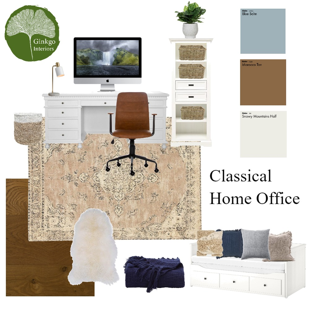 Office Interior Design Mood Board by Ginkgo Interiors on Style Sourcebook