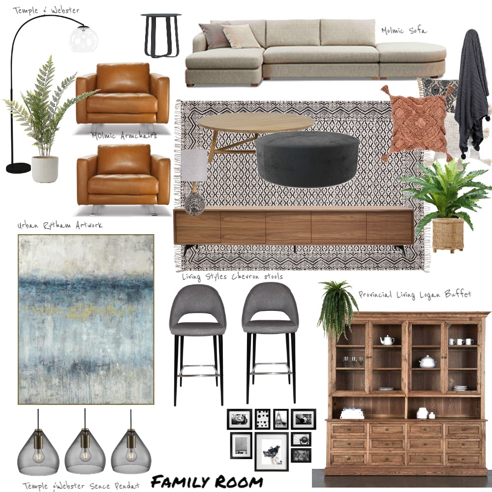 jen Interior Design Mood Board by Marlowe Interiors on Style Sourcebook