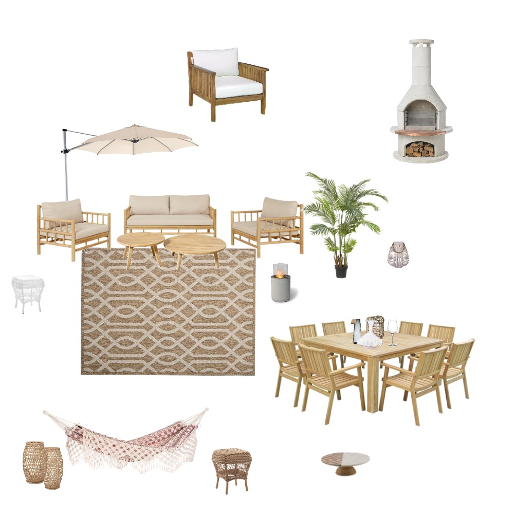 Outdoor Interior Design Mood Board by MelissaKW on Style Sourcebook