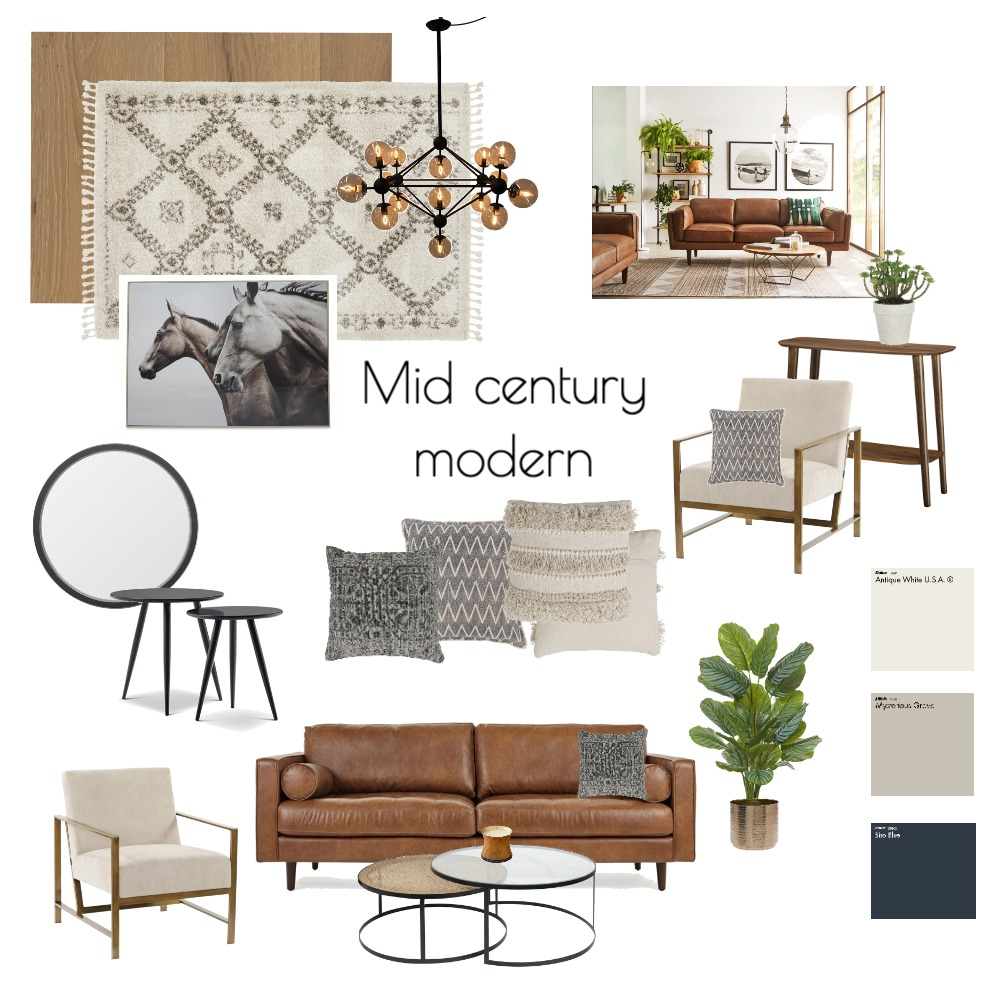 module #3 sample Interior Design Mood Board by stacialb1 on Style Sourcebook