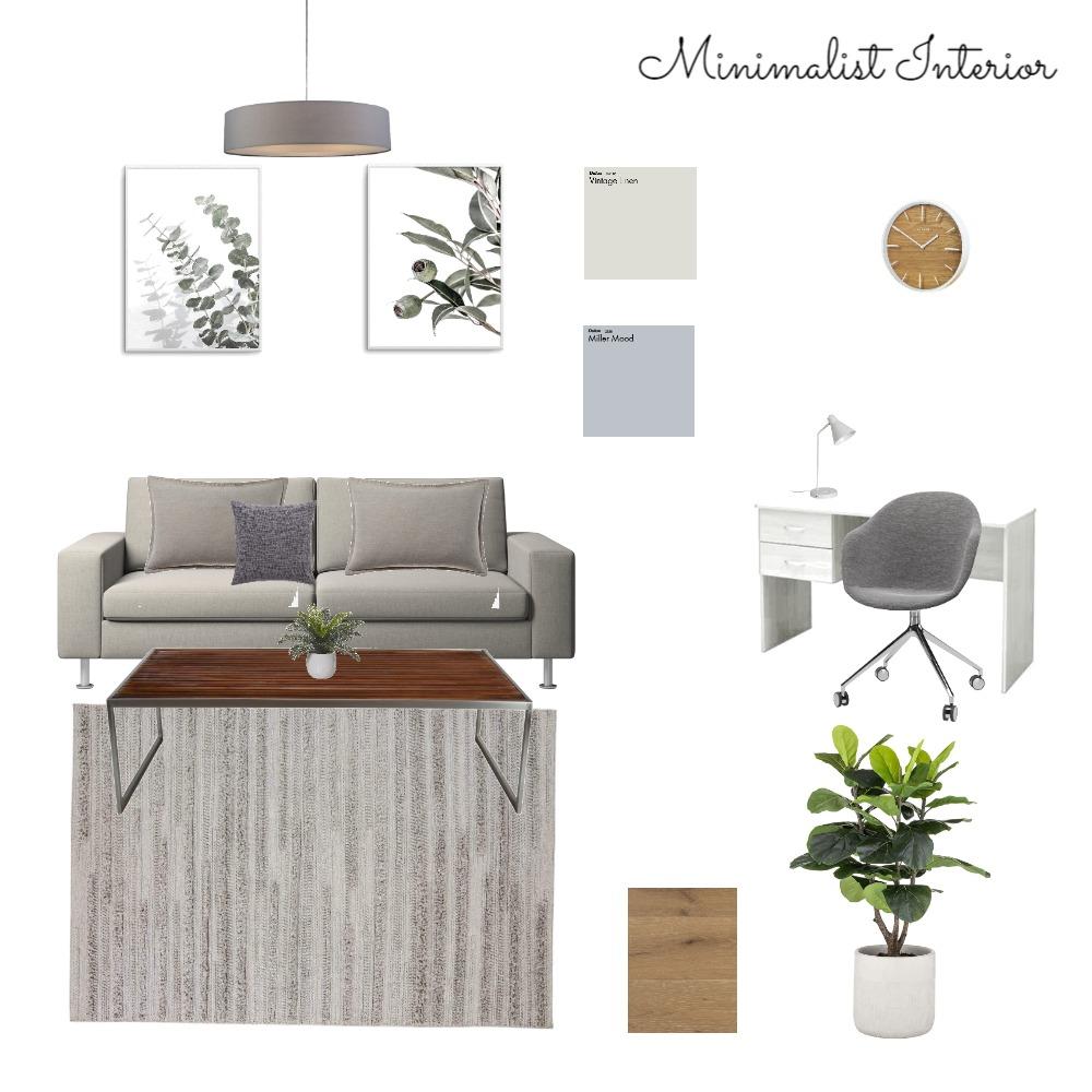 Minimalist Interior Design Mood Board by Hanaa Aulia on Style Sourcebook