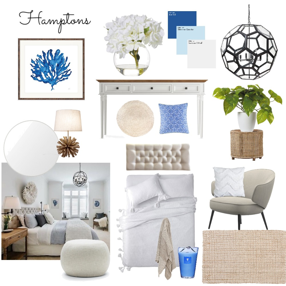 Hamptons2 Interior Design Mood Board by SusieQ on Style Sourcebook