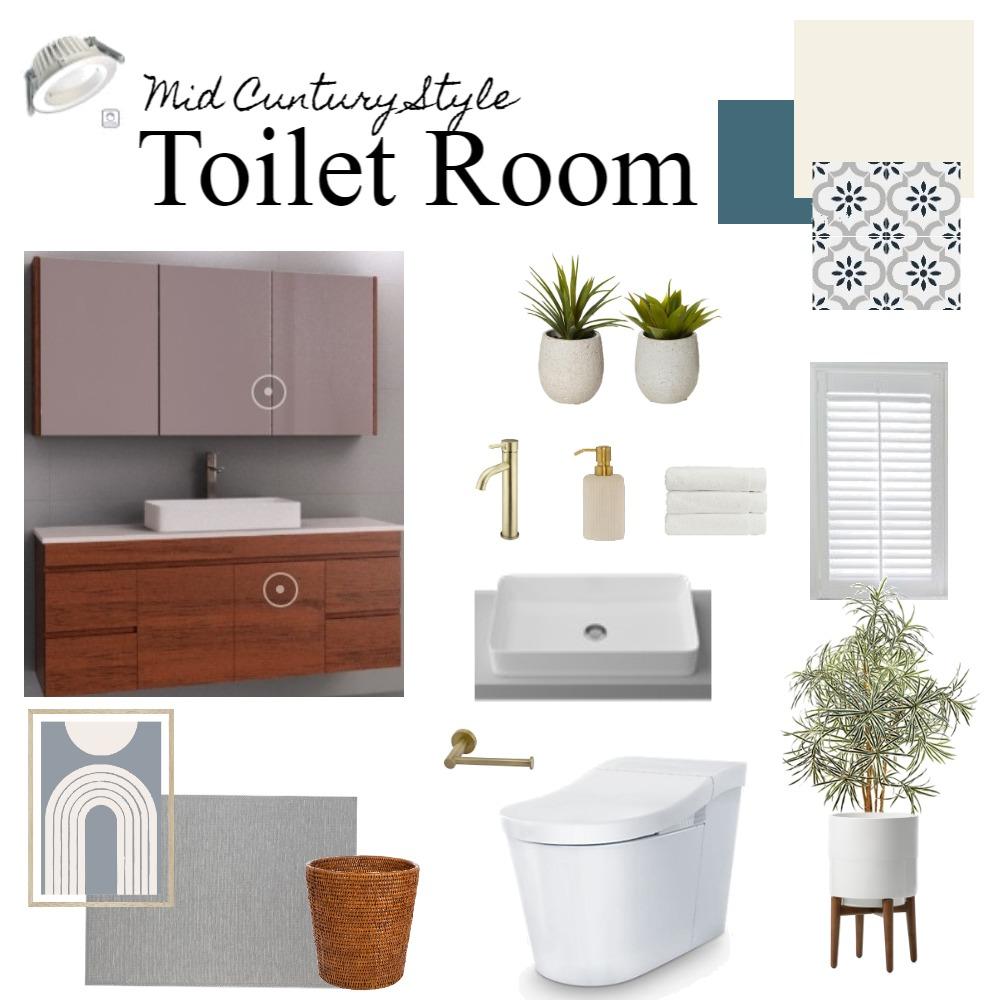 Toilet Interior Design Mood Board by Yuka on Style Sourcebook