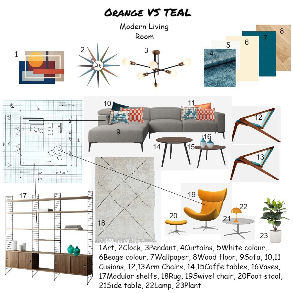 Sample Board Interior Design Mood Board by Irina Barac on Style Sourcebook