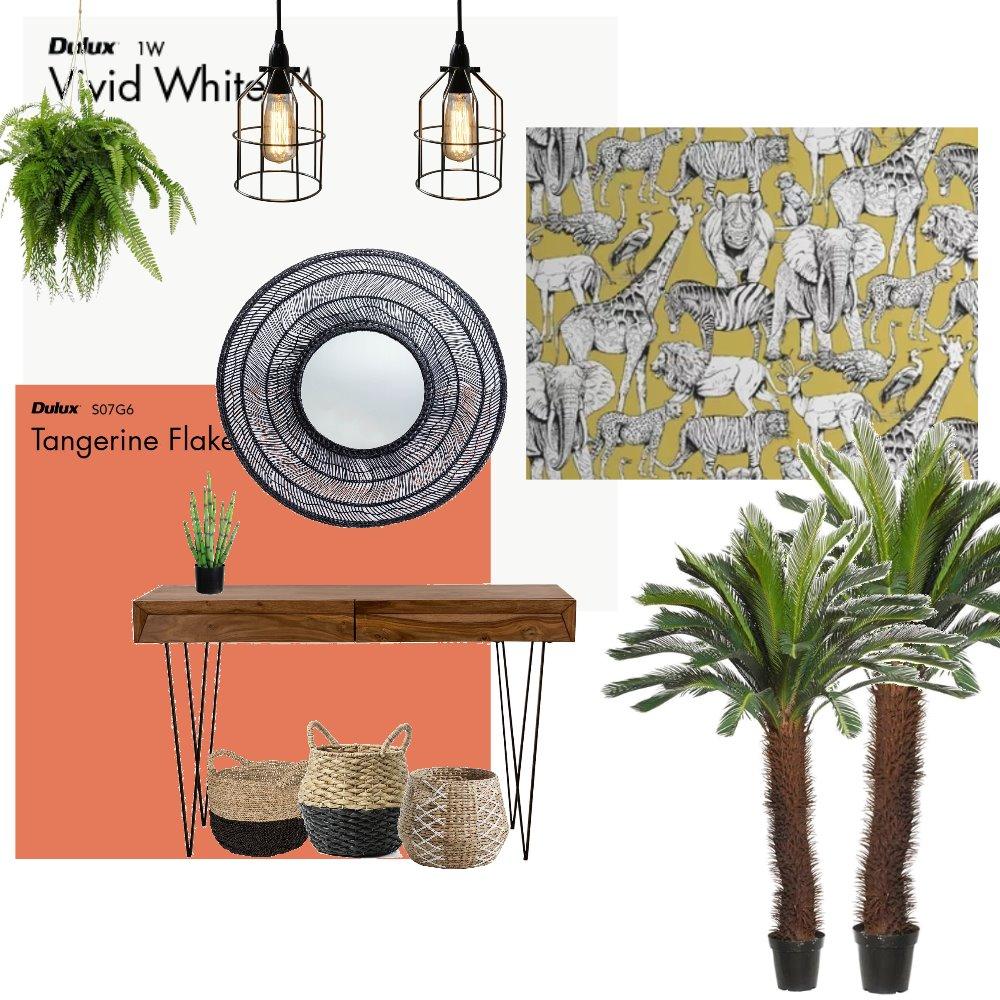 Jungle Hallway Interior Design Mood Board by HGInteriorDesign on Style Sourcebook