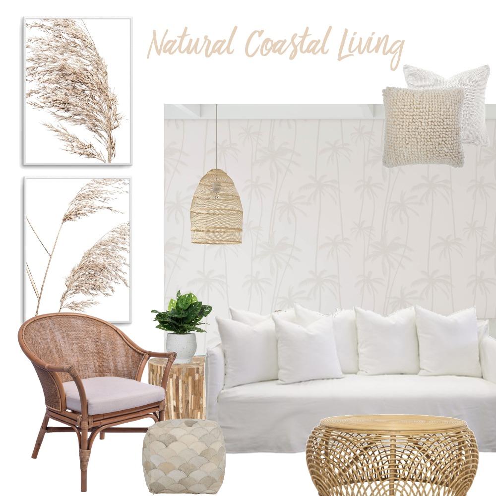 Natural Coastal Living Interior Design Mood Board by Olive et Oriel on Style Sourcebook