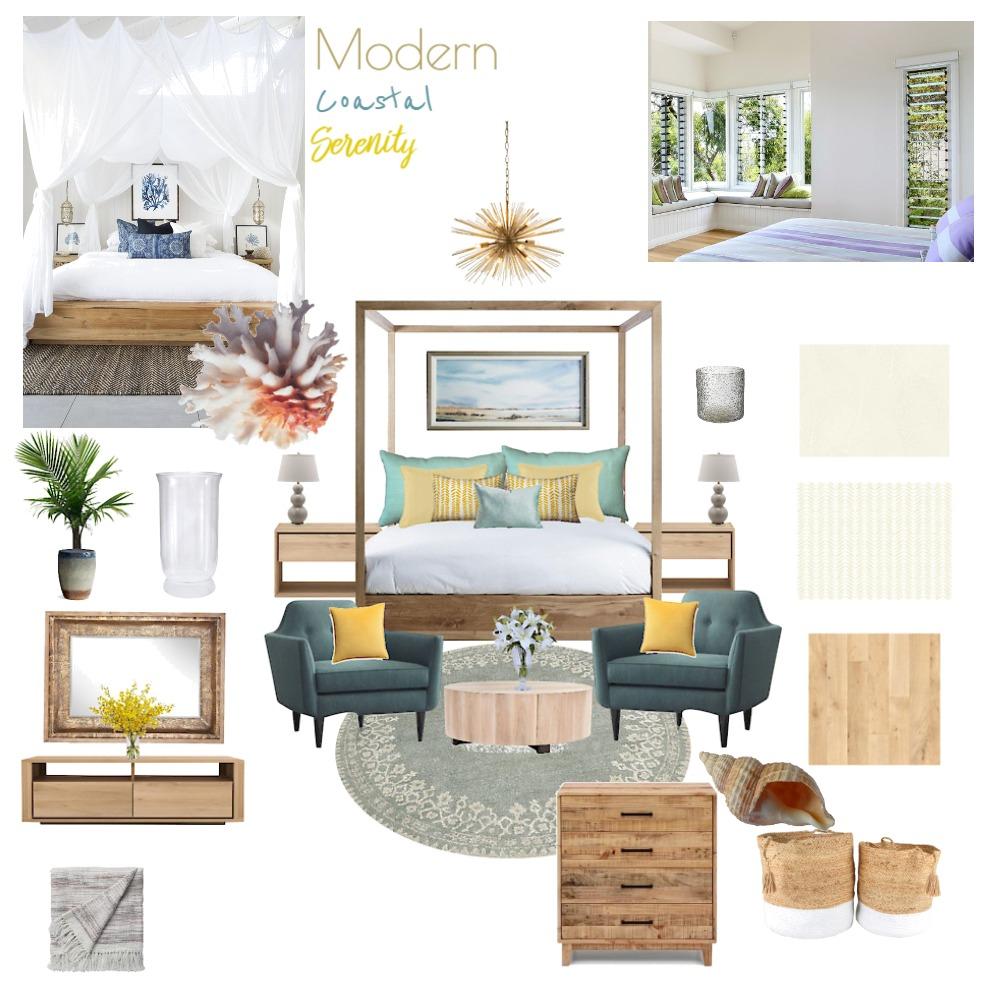 Modern Coastal Serenity Interior Design Mood Board by Tessa on Style Sourcebook