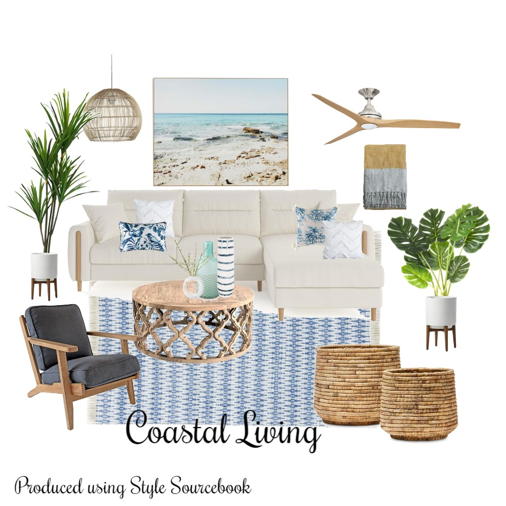 Coastal Living Interior Design Mood Board by whytedesignstudio on Style Sourcebook
