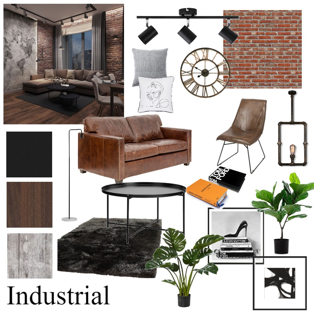 Industrial Design Moodboard Interior Design Mood Board by johnalemon on Style Sourcebook