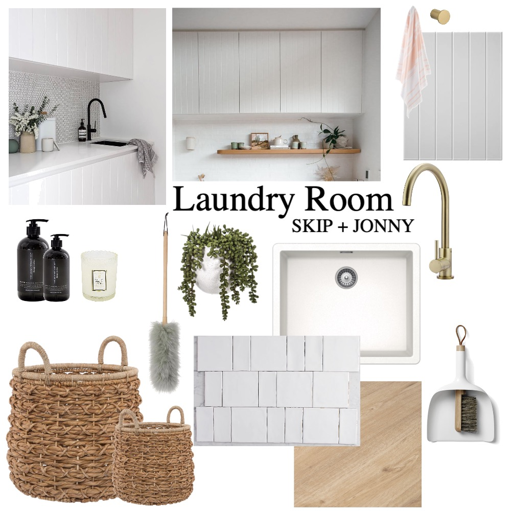 Laundry Room Interior Design Mood Board by clarissa on Style Sourcebook