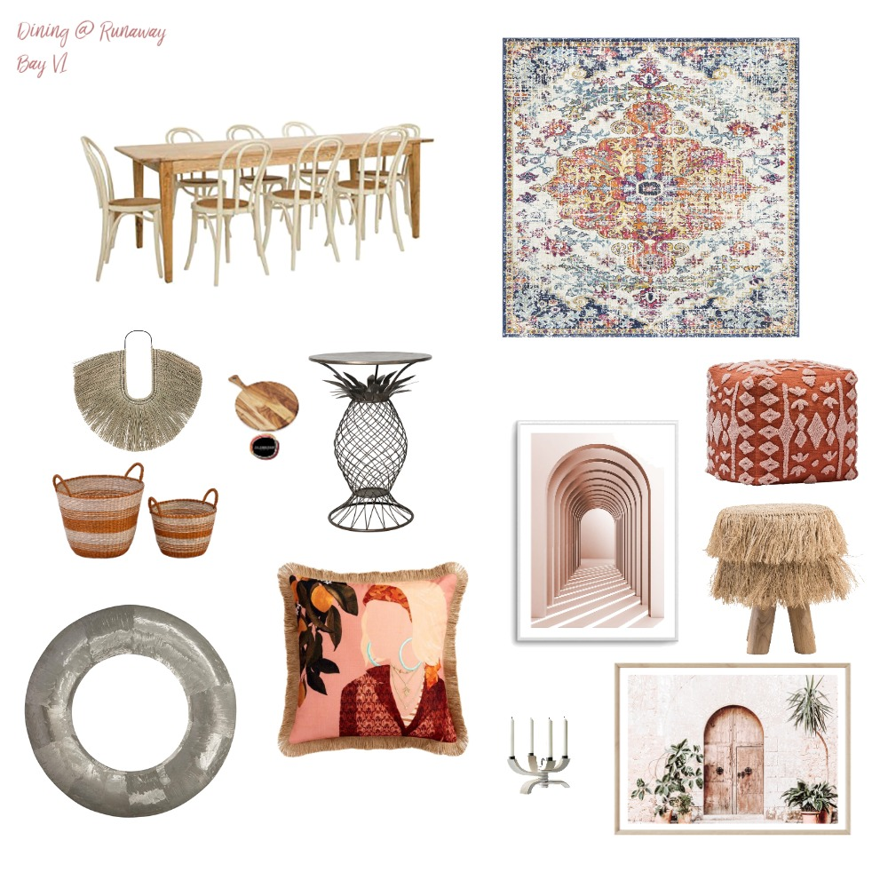 Runaway Bay Dining V1 Interior Design Mood Board by RunawayBay on Style Sourcebook