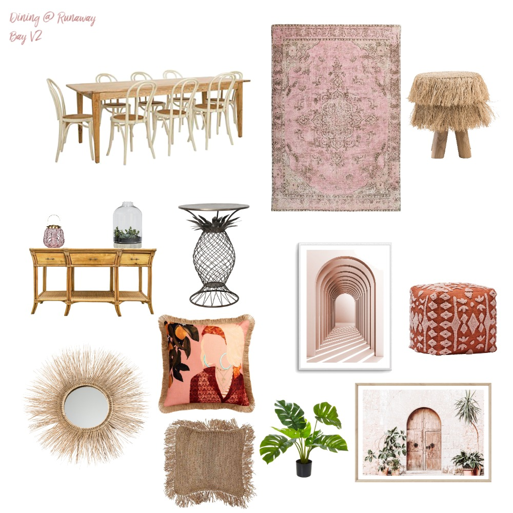 Runaway Bay Dining V2 Interior Design Mood Board by RunawayBay on Style Sourcebook