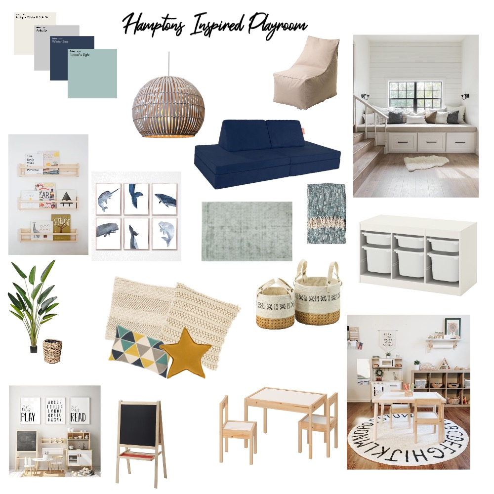 Playroom Interior Design Mood Board by Annie MacDonald on Style Sourcebook