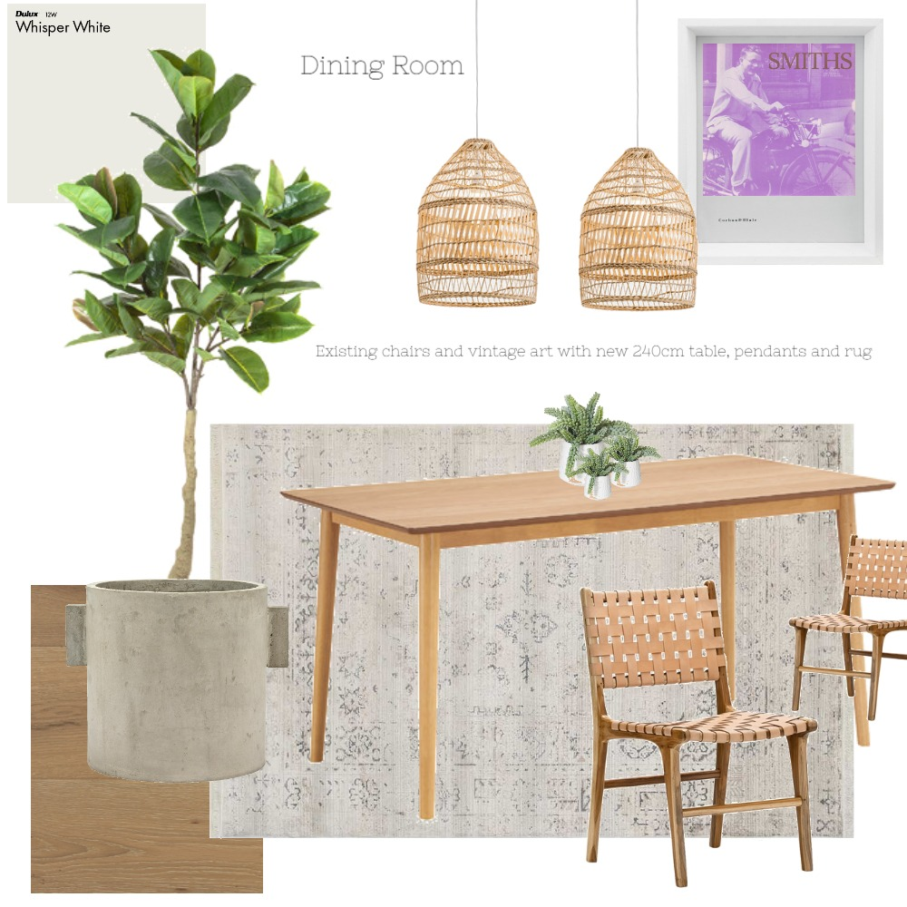 Dining Room Interior Design Mood Board by Suzanne Neilan on Style Sourcebook