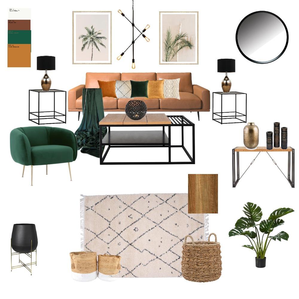 Mid-Century Modern Interior Design Mood Board by KeyWilson on Style Sourcebook